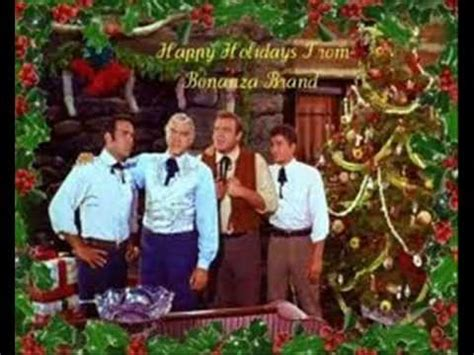quot merry christmas quot the cast of bonanza youtube