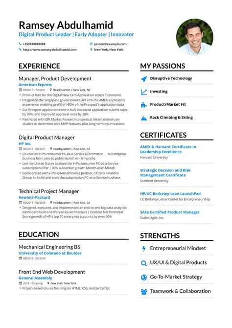 Best Resume Format For Managers by The Best 2019 Project Manager Resume Exle Guide
