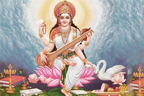 Animated Goddess Saraswati Wallpaper - saraswati wallpaper