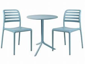 Table Ronde Plastique : table de jardin ronde esth tique symbolique pratique ~ Teatrodelosmanantiales.com Idées de Décoration