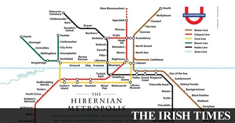 Ulysses as an Underground map: From Kidney Parade to