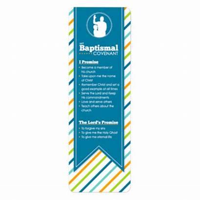 Baptismal Covenant Bookmark Deseret