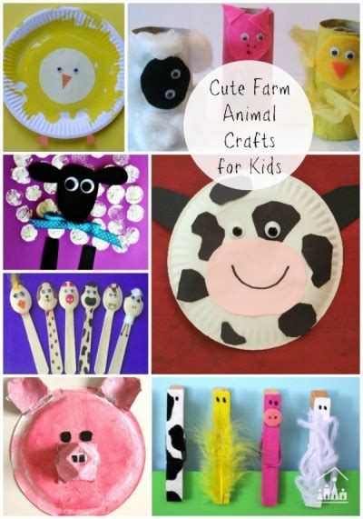 40 fantastic farm animal activities for crafty 664 | farm animal crafts 600 e1456952359264