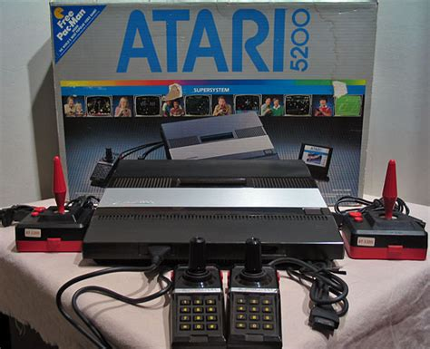 Atari 5200 A Video Game Collection