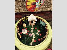 Making a fairy garden Early Years Careers