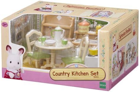 sylvanian country kitchen country kitchen set sylvanian families 2644