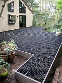 how to build a patio with pavers Stone Paver Deck - Build Wood Framing For Pavers