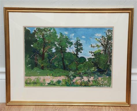 landscape watercolor  nicolai cikovsky  sale  stdibs