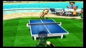 Wii Sports Resort Table Tennis vs. Tomoko @ Level 2500 [ 11-0 ] - YouTube  Table Tennis Sports