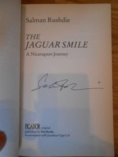 the jaguar smile the jaguar smile a nicaraguan journey by salman rushdie