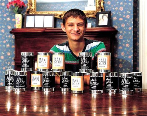 young entrepreneur hart main  owns successful candle