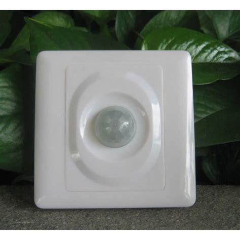 wall plate infrared pir motion sensor security light