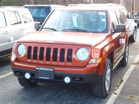 orange jeep patriot new 2012 jeep patriot sport 4x4 for sale stock 1087l