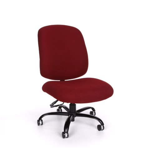 ofm 700 adjustable office fabric w casters big tall chair