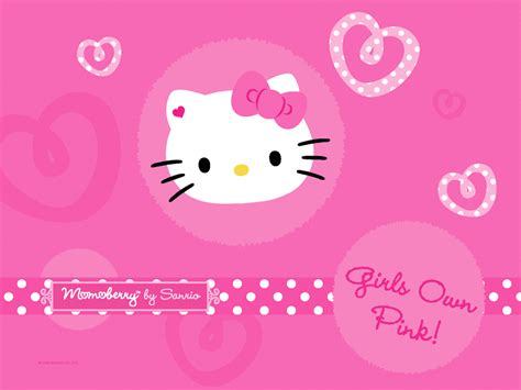 desktop wallpaper pink  kitty desktop wallpapers