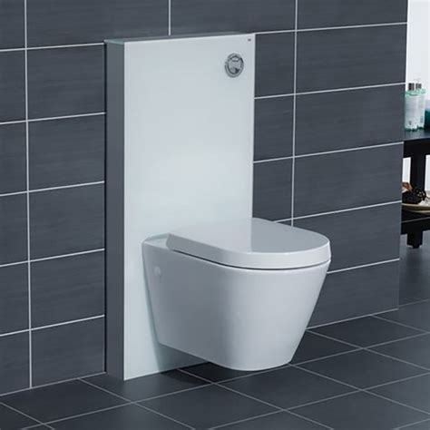 wall hung toilet rak obelisk glass cabinet cistern frame for wall hung