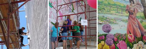 community tree town murals