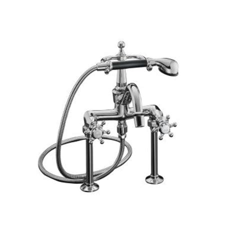 Kohler Bathroom Tub Faucets by Kohler Antique 2 Handle Claw Foot Tub Faucet With