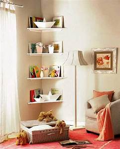 simple diy corner book shelves adding storage spaces to With benefits of adding small corner shelf