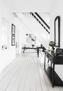 Schwarz Weiß Wohnzimmer : elegant in schwarz weiss lilaliv wohnideen wohnzimmer schwarz weiss treppe wei und wei flur ~ Orissabook.com Haus und Dekorationen
