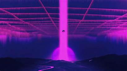 Vaporwave 4k Falling Down Wallpapers Synthwave Resolution