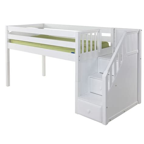 white low loft bed with desk 17 best ideas about junior loft beds on more