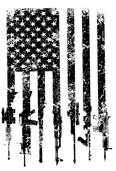 American Flag Rifle Svg  – 146+ SVG PNG EPS DXF File