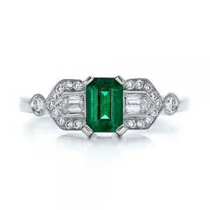 emerald and engagement rings custom jewelry engagement rings bellevue seattle joseph jewelry