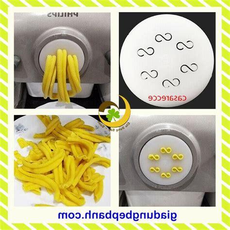 philips pasta maker disc casarecce