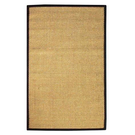 home depot sisal rug home decorators collection adirondack sisal black 7 ft x