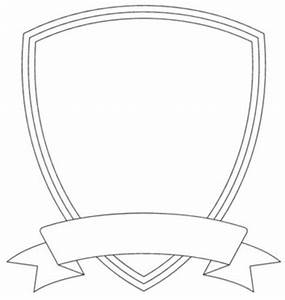 shield template free images at clkercom vector clip With blank shield template printable