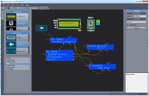 visual framework  arduino