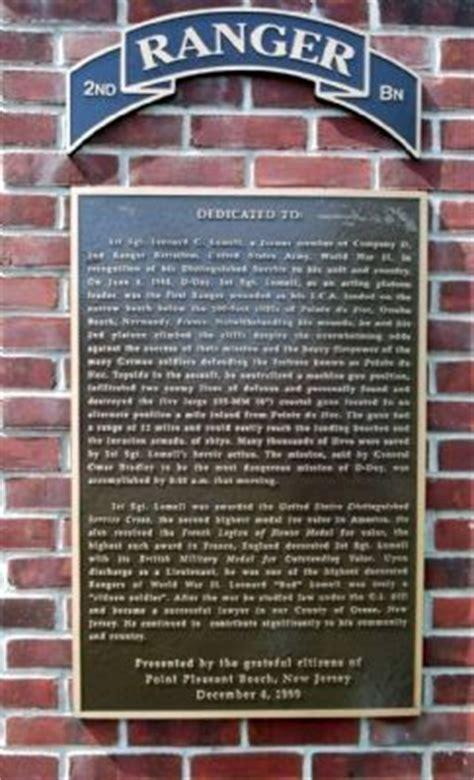 1st sgt leonard g lomell historical marker
