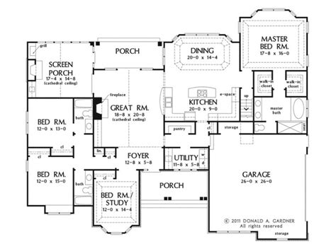 one house plans with large kitchens eplans european house plan 2453 square and 4