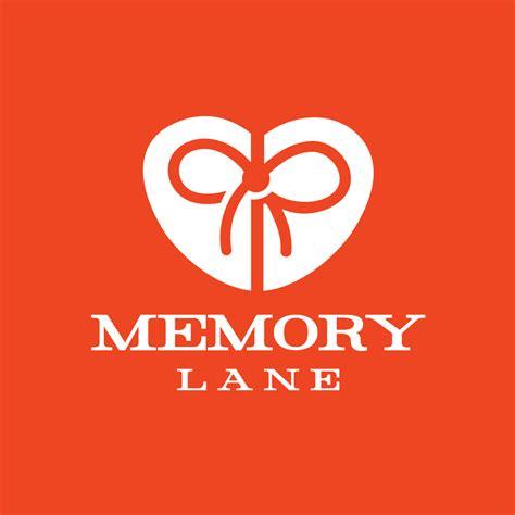 memory lane heart bow gift logo design logo cowboy