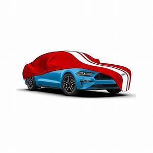 Red Indoor Premium SAAS Show Car Cover Suit Ford Mustang GT Fastback 2015-2020 | Autobox