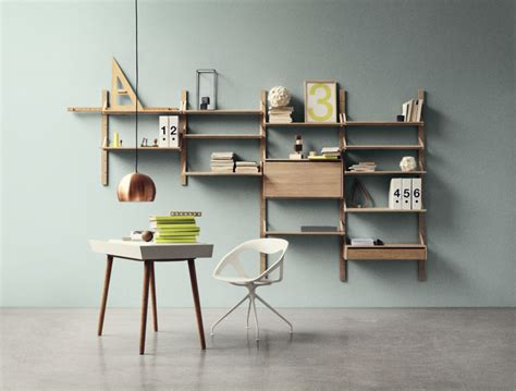 Home Interior Horse Shelf : Wall-mounted Racks, Desks And Shelves That Save Space And