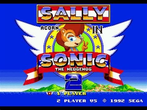 sally acorn  sonic  hedgehog full hack youtube