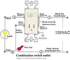 Wire Schematic Switch Schematic Combo Diagram Power To Constant by Simple Electrical Wiring Diagrams Basic Light Switch