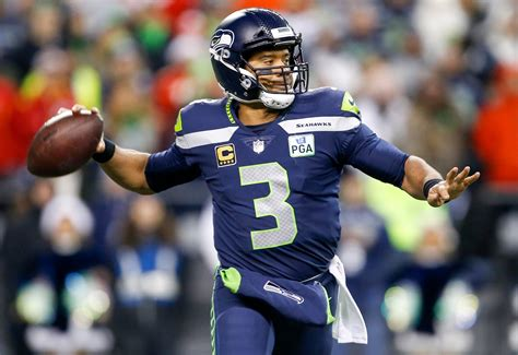 russell wilson excited  throw    seahawks