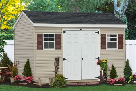 buy outdoor vinyl sheds and barns direct from the amish