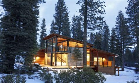 mountain cabin lake modern mountain house lake tahoe camp design plans treesranchcom
