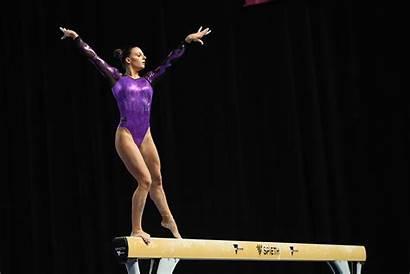 Gymnastics Artistic Emma Nsw Australia Beam 1956
