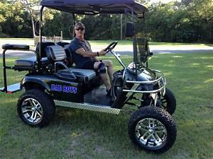 Lifted Golf Cart    Custom Ezgo Golf Carts