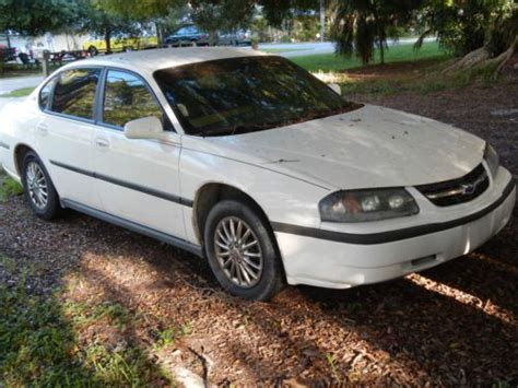 Sell Used Silver Chevy Impala Blown Head