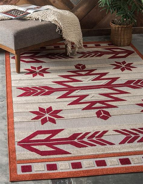 9 X 9 Outdoor Rug by Burgundy 6 X 9 Outdoor Modern Rug Area Rugs Esalerugs