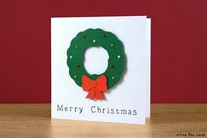 Weihnachtskranz Selber Basteln : 1001 ideen zum thema weihnachtskarten basteln ~ Eleganceandgraceweddings.com Haus und Dekorationen