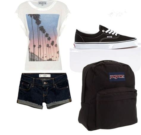 QUICK outfit for school | Schools Outfit and Shorts