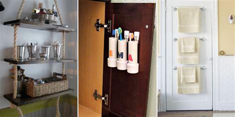 cheap diy storage ideas  organize  bathroom