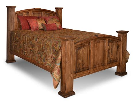rustic bed rustic mansion bed rustic pine bed pine wood bed